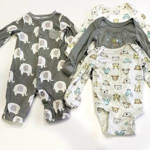 Carter's Newborn Sleeper and Onesies